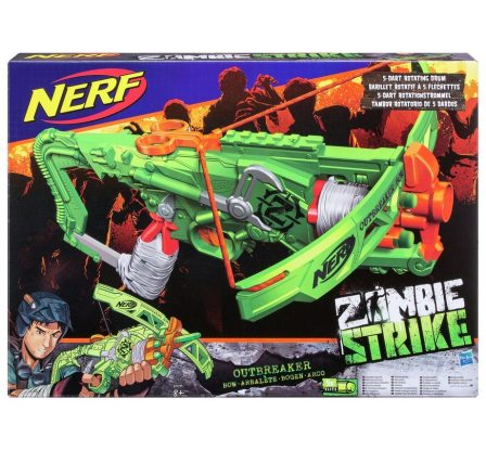 *Review* Nerf Zombie Strike Outbreaker Bow