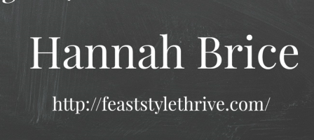 Wise Words Wednesday with Hannah Brice