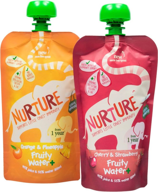 Nurture Fruity water and prize bundle