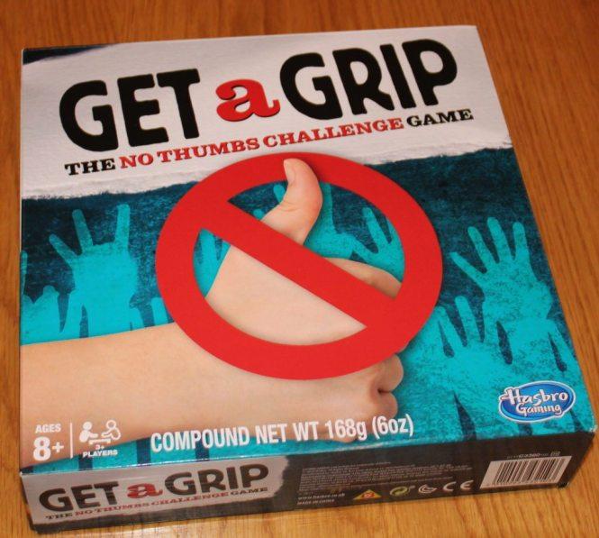 Get a Grip - Hasbro Games