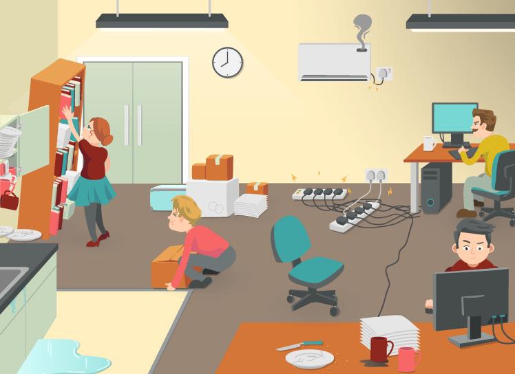 Office dangers