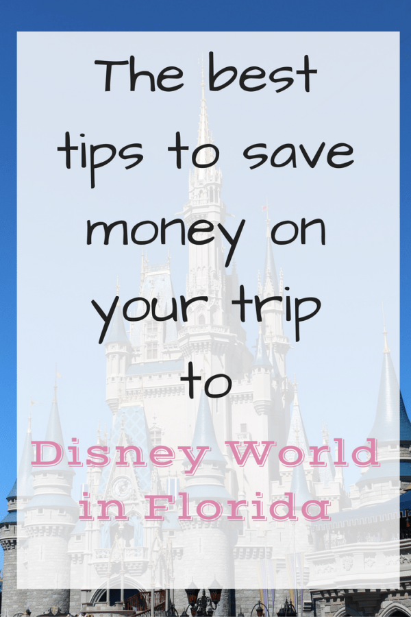 Saving money in Disney World Florida
