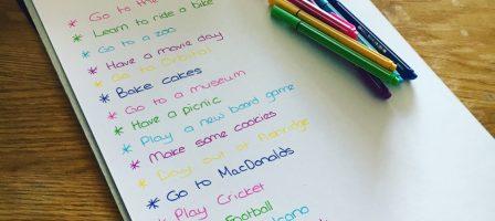 Our summer holiday bucket list – #MVWBucketList