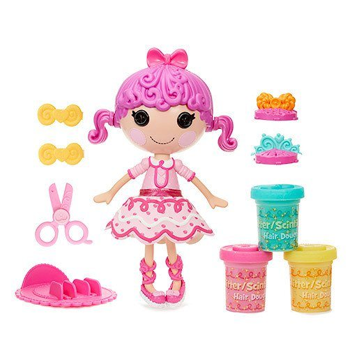 Lalaloopsy Glitter Hair Dough Activity Doll - Tress Twist 'N' Braid