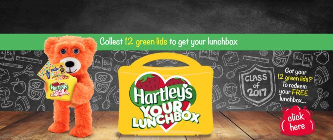 Hartley's Jelly - Back to school