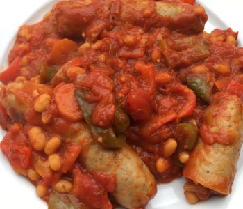 Sausage stew – simple family favourite