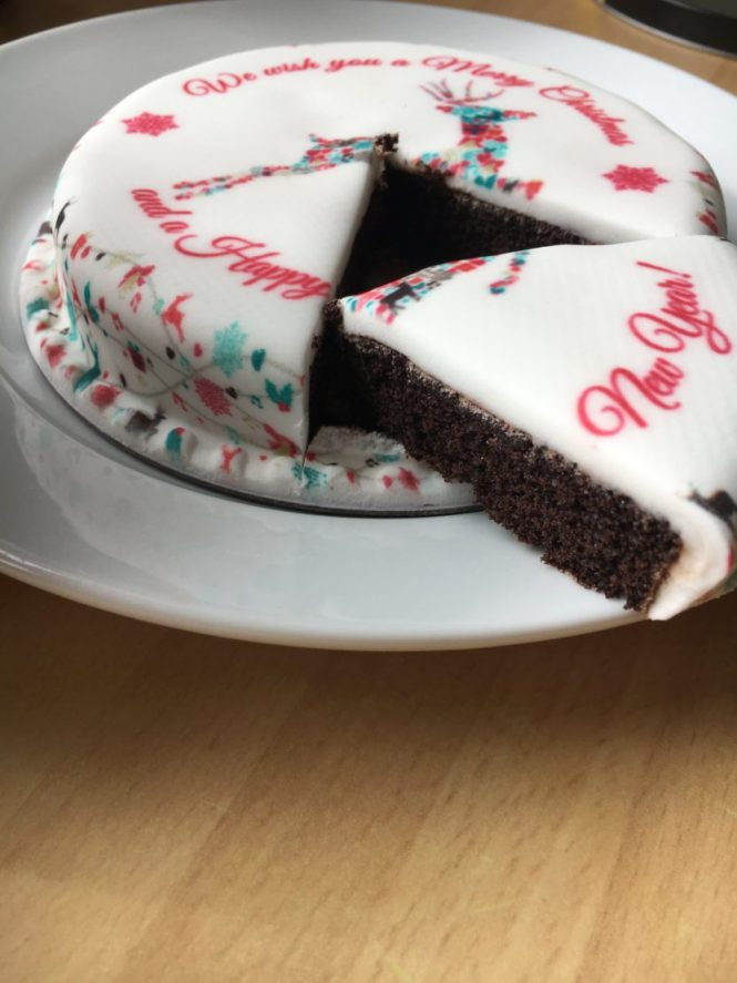 Letterbox Gift Cake from Bakerdays