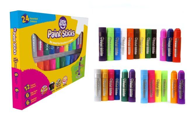 Little Brian Paint Sticks Assorted Pack