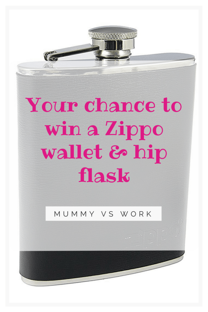 Your chance to win a Zippo wallet and hip flask