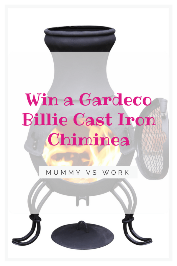 Win a Gardeco Billie Cast Iron Chiminea