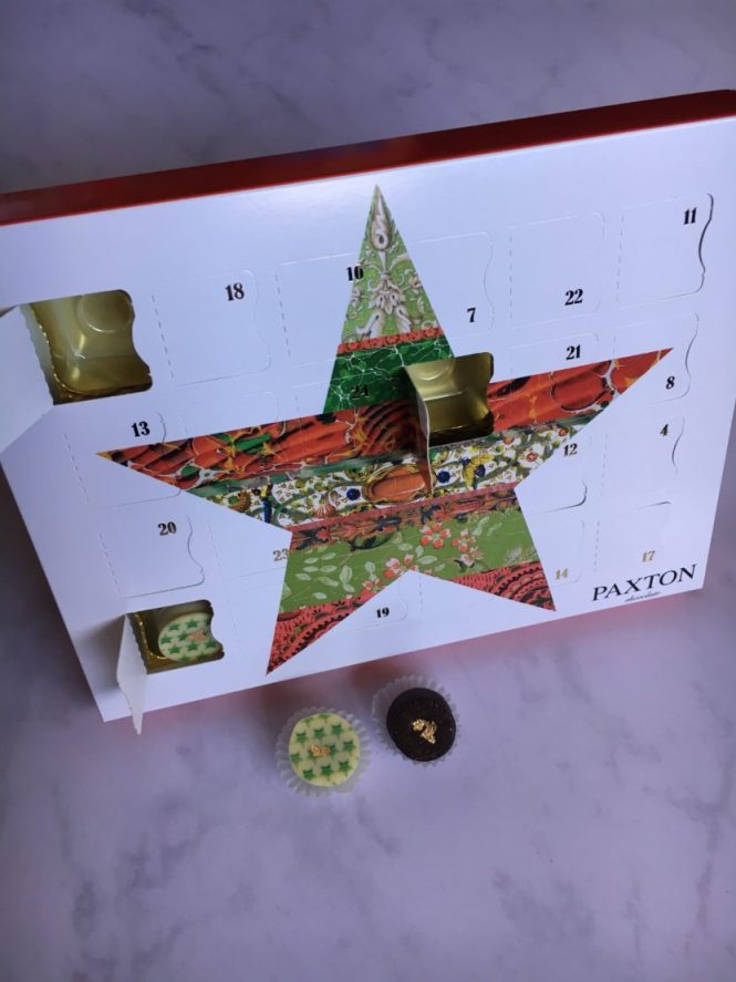 Paxton Chocolate Truffle Advent Calenda
