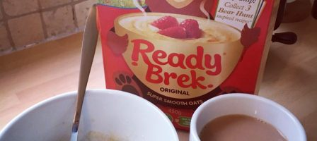 Keeping warm with Ready Brek this winter