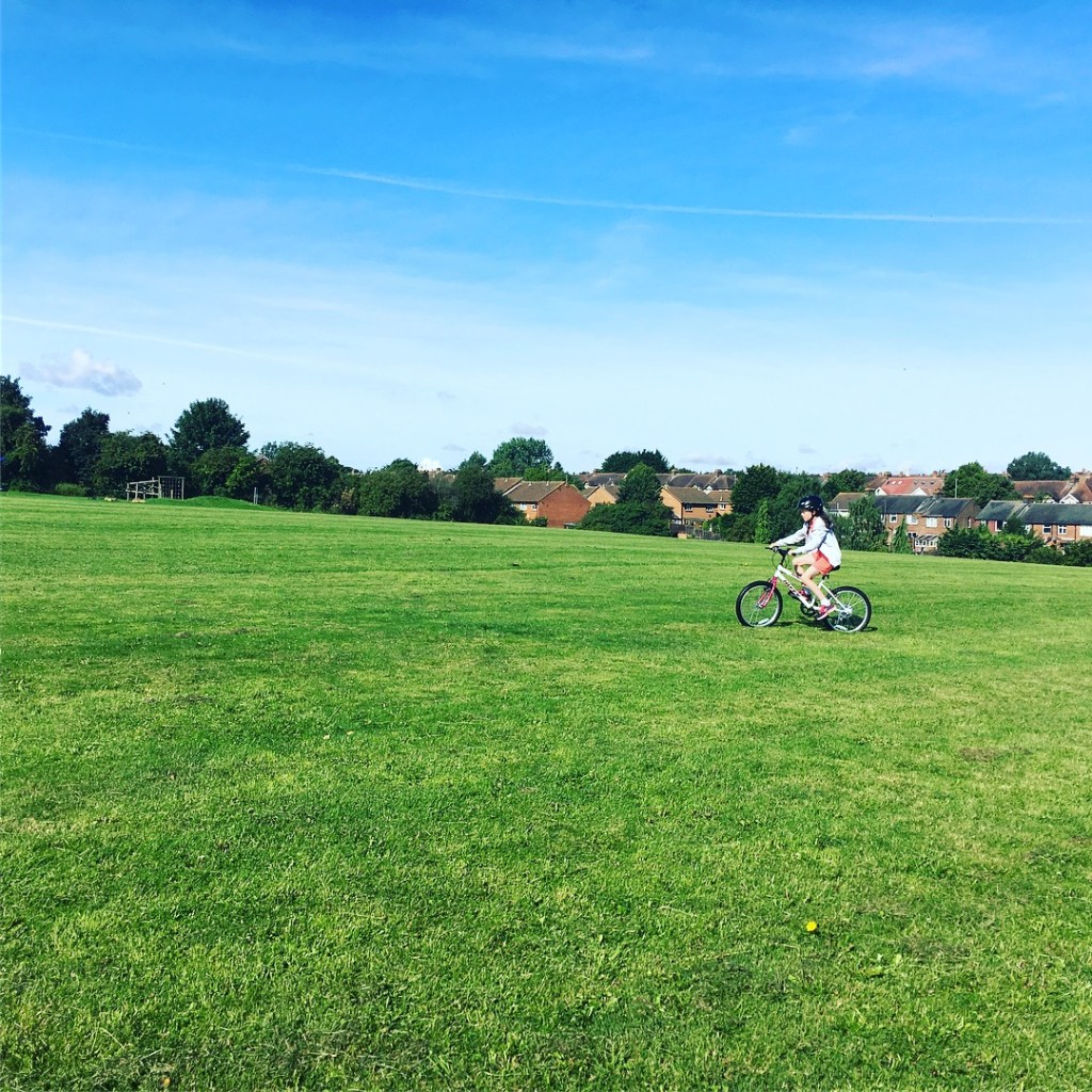 Getting active as a family outdoors