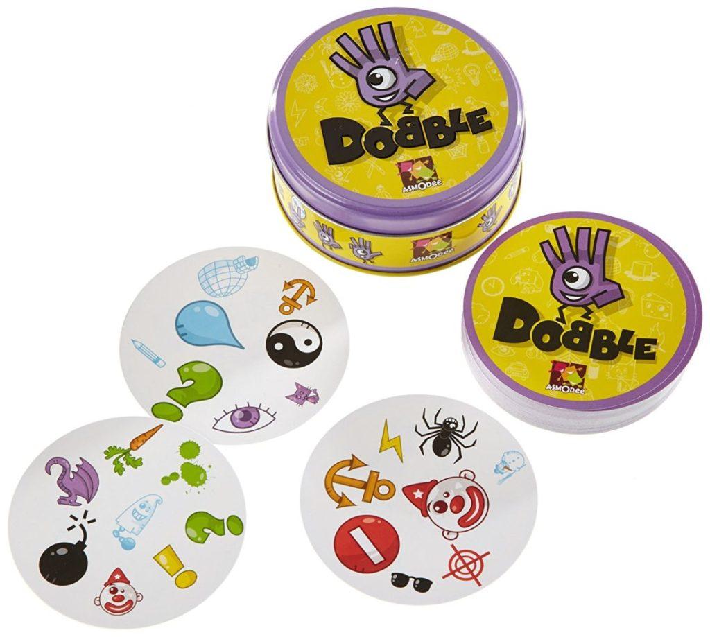 Dobble, the frantic family card game