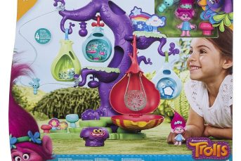 *Review* Trolls POD'ular Tree playset & Hair in the Air Poppy