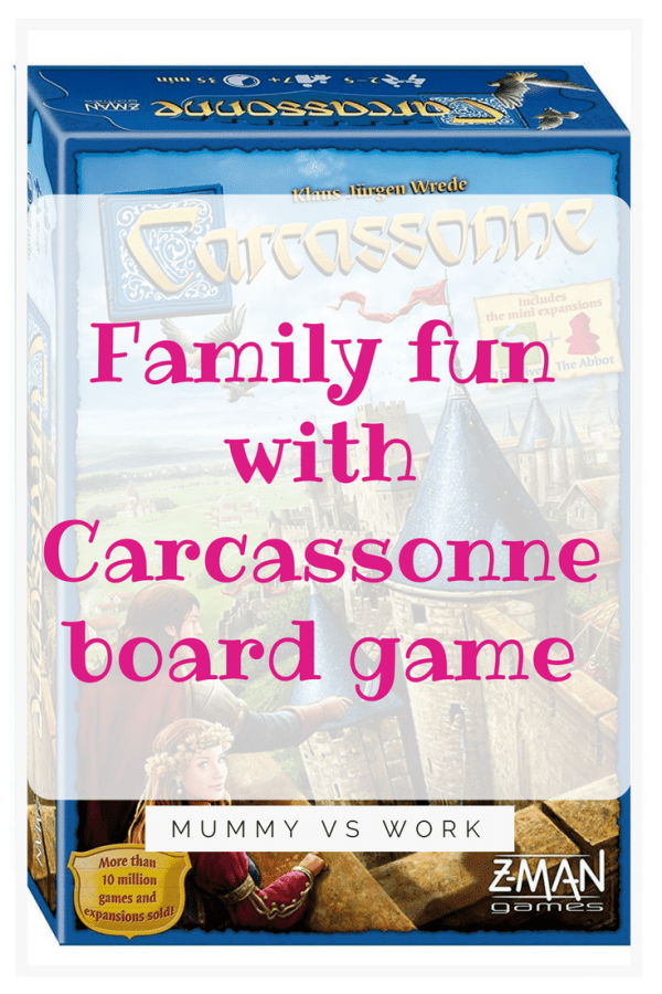 Family fun with Carcassonne board game