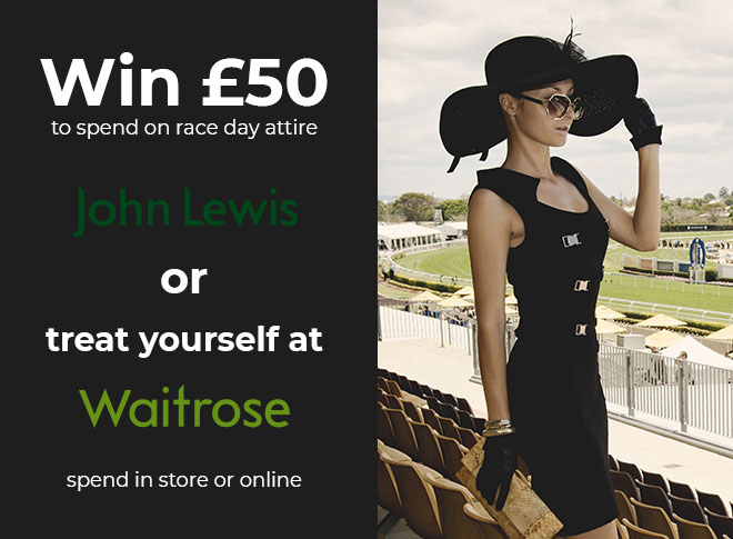 Your chance to win a £50 John Lewis vouchers