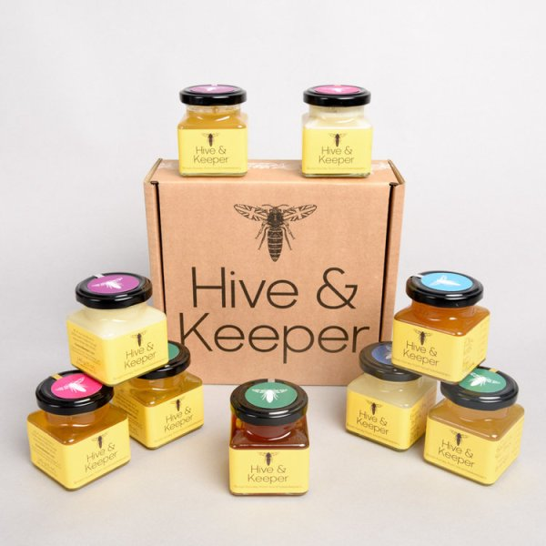 Ultimate honey gift set from Hive & Keeper