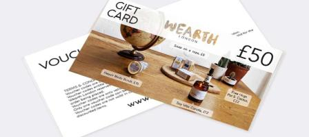 *Prize draw* £50 voucher to spend at Wearth London