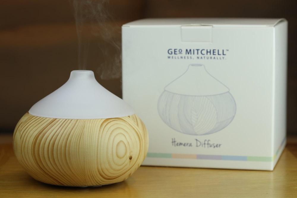 Diffuser & Christmas comfort oil from Geo Mitchell