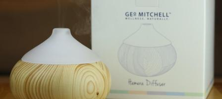 *Prize draw* Diffuser & Christmas comfort oil from Geo Mitchell