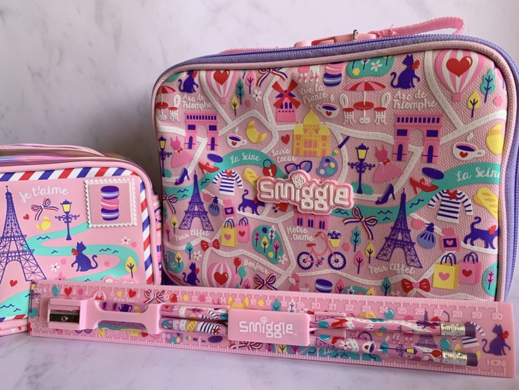 Back to school preparation with Smiggle