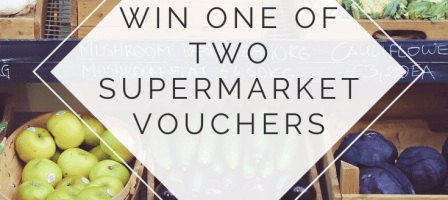 *Prize draw*  £75 & £30 supermarket vouchers up for grabs