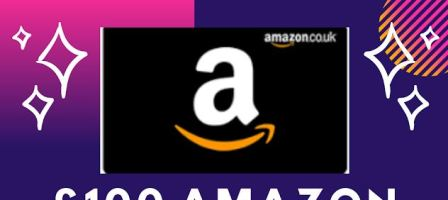 *Prize draw* Win a £100 Amazon gift card