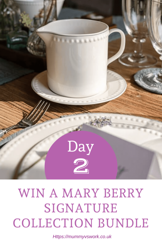 Day 2 - Win a Mary Berry Signature Collection bundle