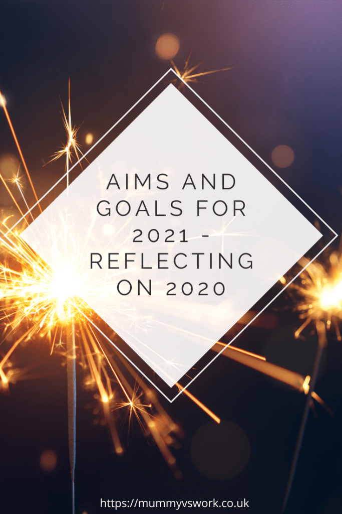 Aims and goals for 2021 - Reflecting on 2020