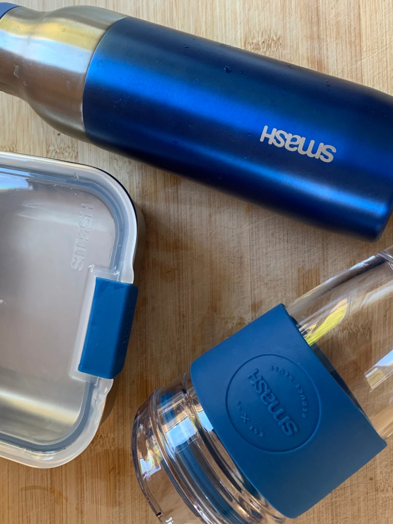 Lunch on the go with SMASH BLUE - Review