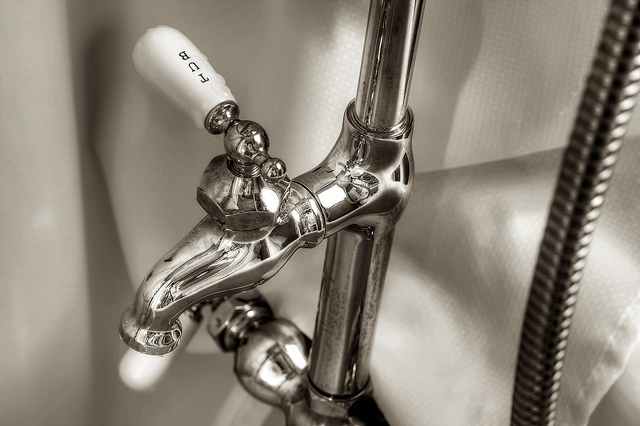 What should you do if your plumbing develops a whistle?