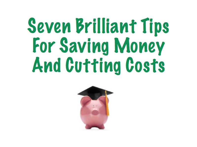 7 Top Tips For Saving Money And Cutting Costs: My Piggy Bank Tale