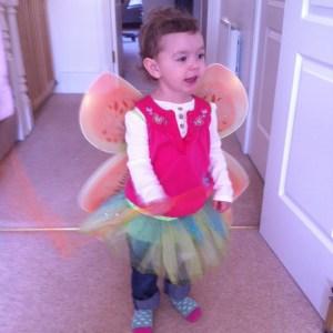 Wear Fairy wings to festivals