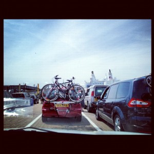 What it's like going on a ferry