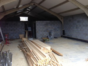 Building a salon in radlett