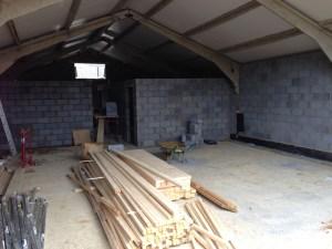Building a salon in radlett