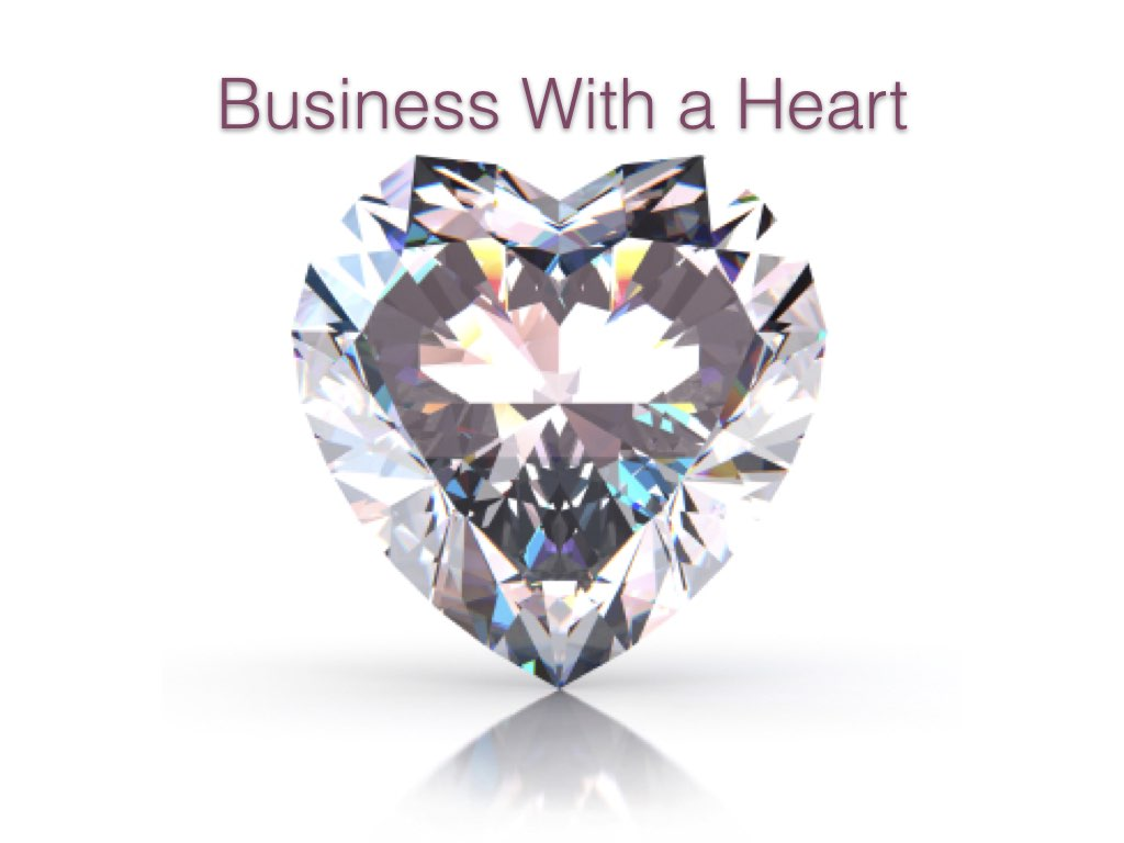 Qualifying for 'Business with a heart' Review