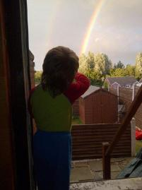 Bruiser's first Rainbow