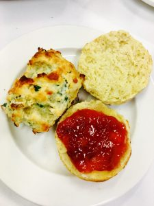 The Ultimate Afternoon Tea Plain and Cheese/Herb Scones - Find recipe here!