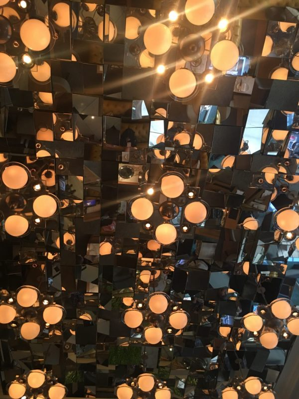 Mirror Prism Ceiling in the Mirror Room, Rosewood London