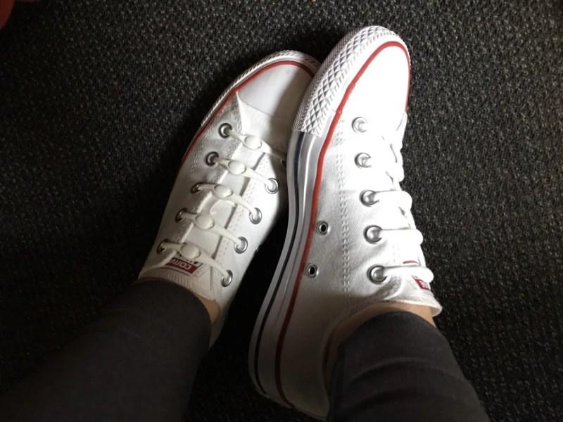 All Star White Converse