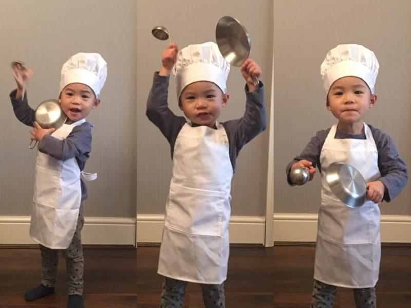 adorable little chef