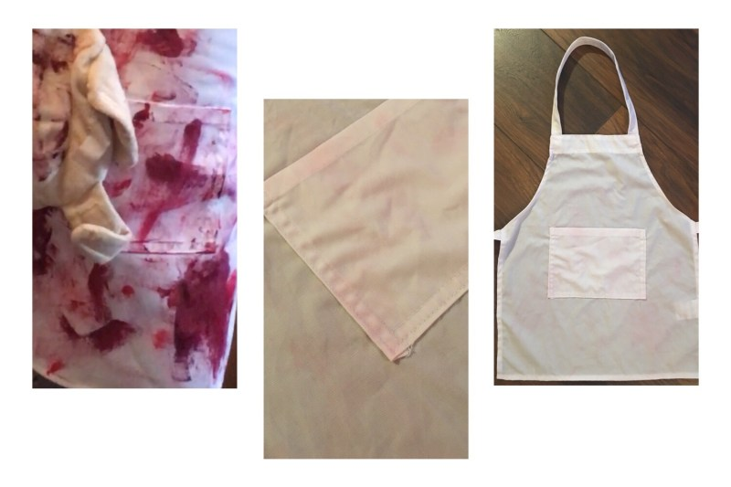 Toddler halloween costume Crayola paint before and after
