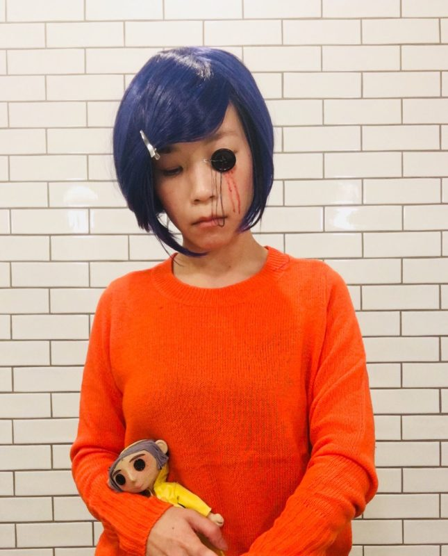 Coraline Halloween Outfit