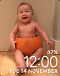 Customise Watch Face with your favourite photos
