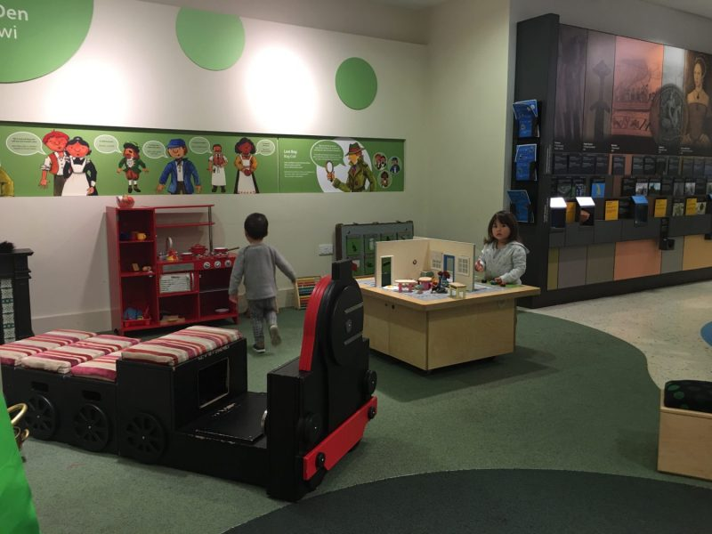 Play time in Cardiff Story Museum