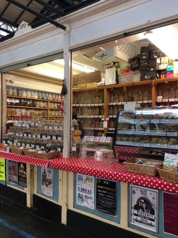 Spice and all things nice at Cardiff Market