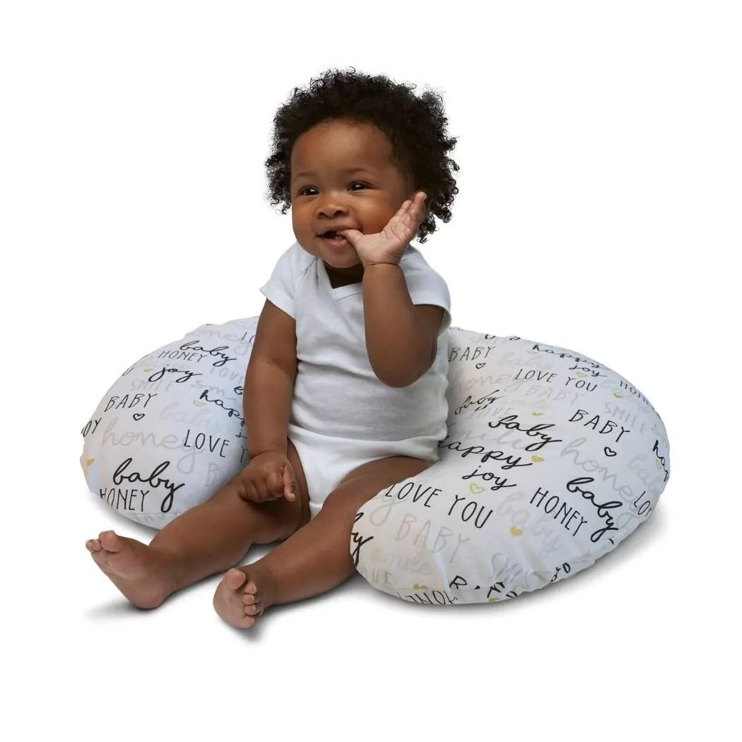 chicco boppy pillow hello baby