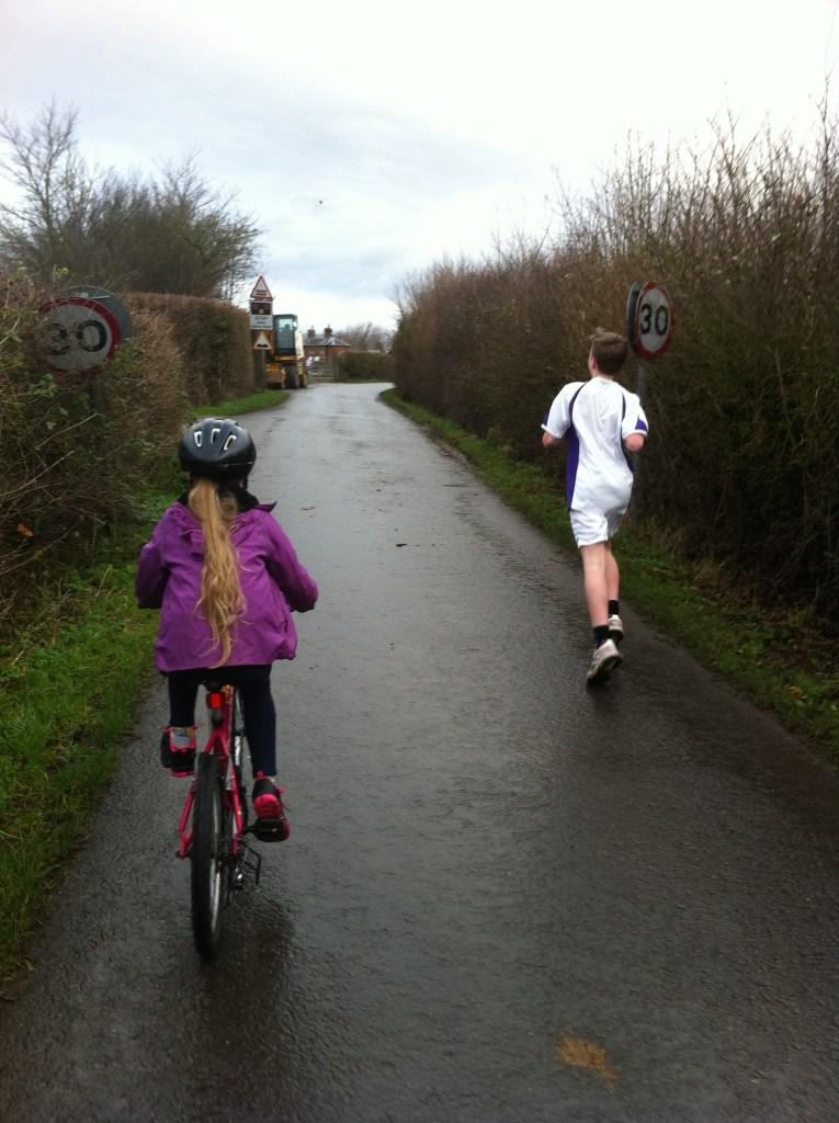 running, kids, 365, son, daughter